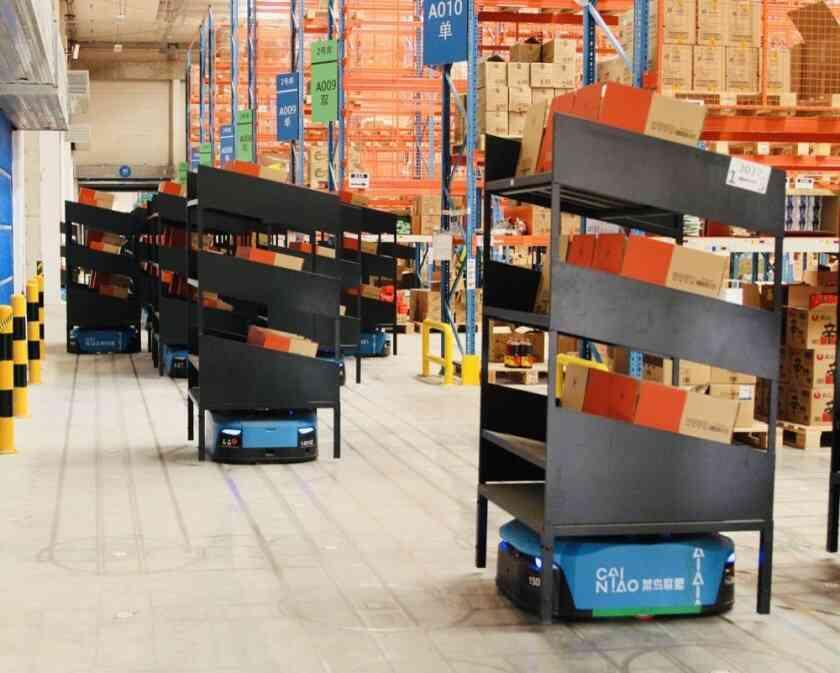 Taobao logistics